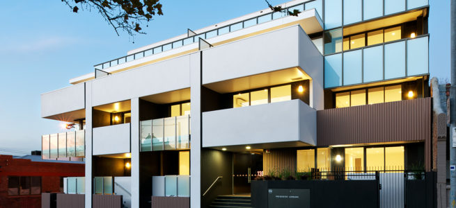 Errol St, Nth Melbourne – 28 Apartments