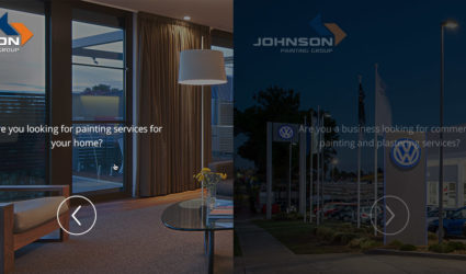 Johnson Painting Group New Website