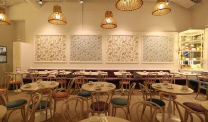 Commercial Wallpapering