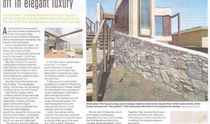 Luxury home we painted in Mt Martha, featured in Domain (the Age) newspaper!